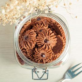 kue kering surabaya cookies cokelat